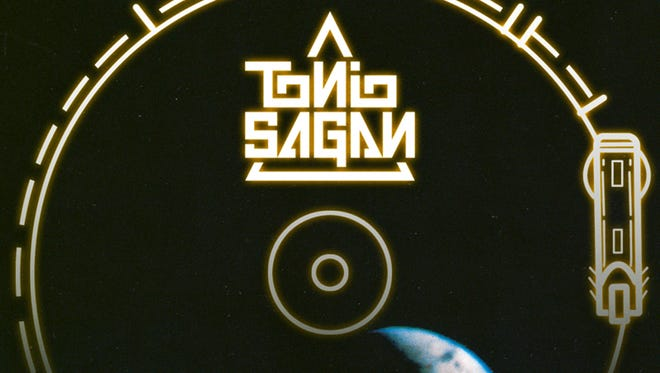 Tonio Sagan album art for Voyager Records Greetings