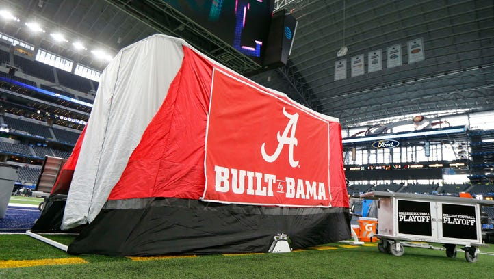 Alabama's medical tent is an idea popping up all over college football