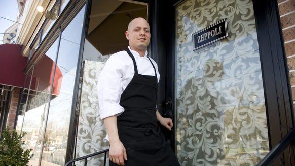 Chef/owner Joey Baldino of Zeppoli Restaurant in Collingswood
