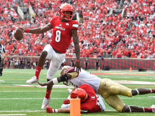 NCAA Football: Florida State at Louisville