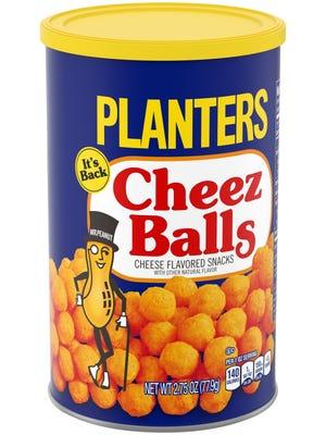 Planters Cheez Balls.