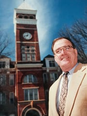 Max Lennon, who served as president of Clemson University from 1986 to 1994, in a photo taken in 1991.