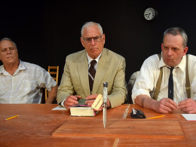 """Riverfront Playhouse performs """"Twelve Angry Men"""""""