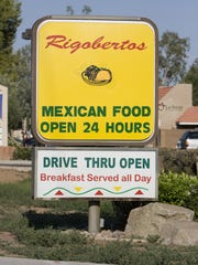 Rigoberto's at 2033 E. Southern Ave. in Mesa.