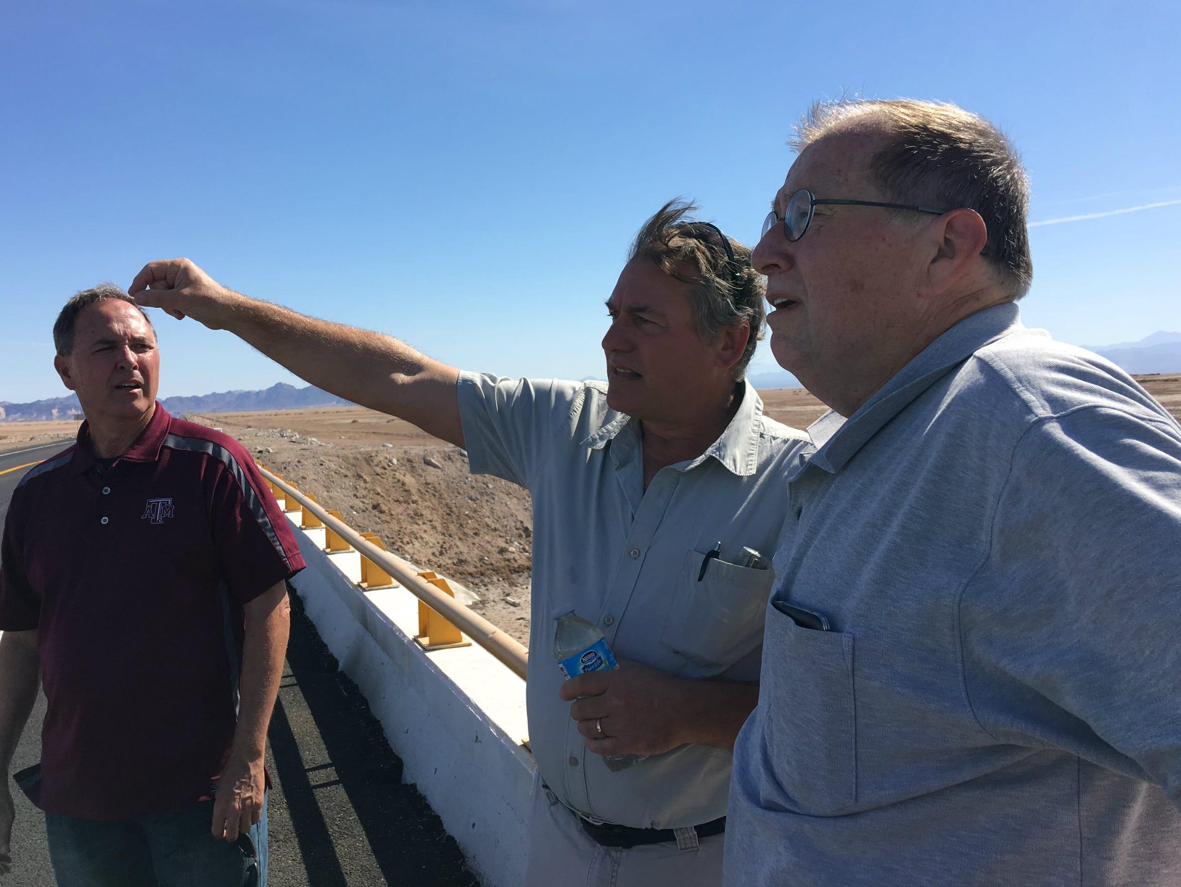 Bruce Wilcox, the assistant secretary for Salton Sea