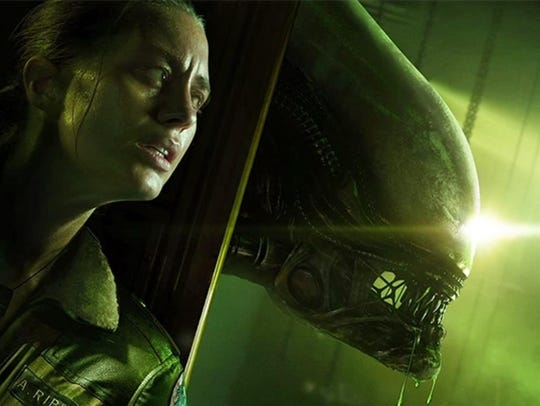 Well, this doesn't look good. Alien Isolation has you