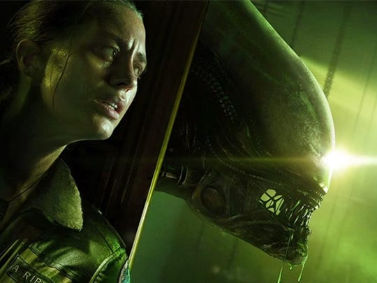 Well, this doesn't look good. Alien Isolation has you trapped in a space station with a bad, bad xenomorph.