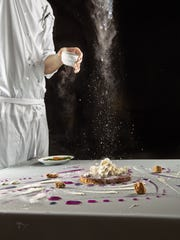 Chicago's Alinea features artful gastronomy.