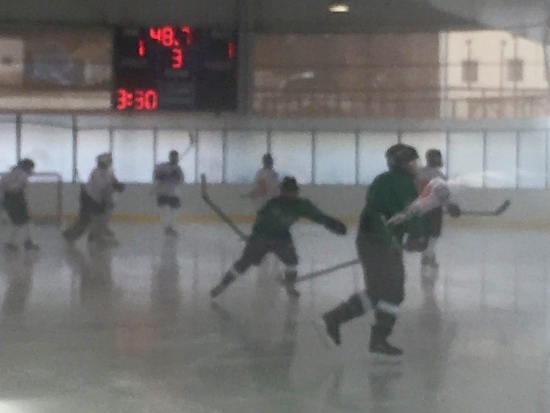 Yorktown beat White Plains 4-2 in a fog in the first game of the Guy Matthews Invitational.