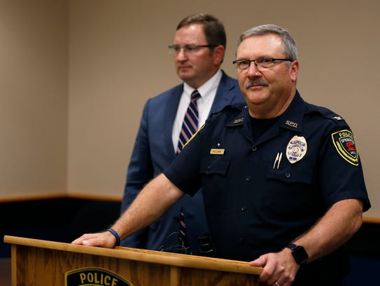 Springfield Police Chief Paul Williams in a 2017 file photo.