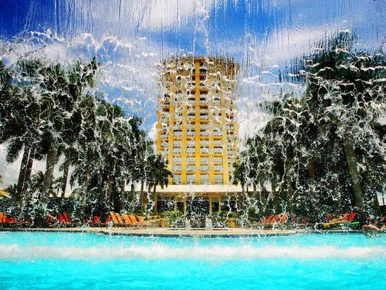 The 454-unit Hyatt Regency Coconut Point Resort & Spa in Bonita Springs.