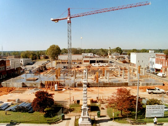 Kahn Construction in the early stages of Anderson County
