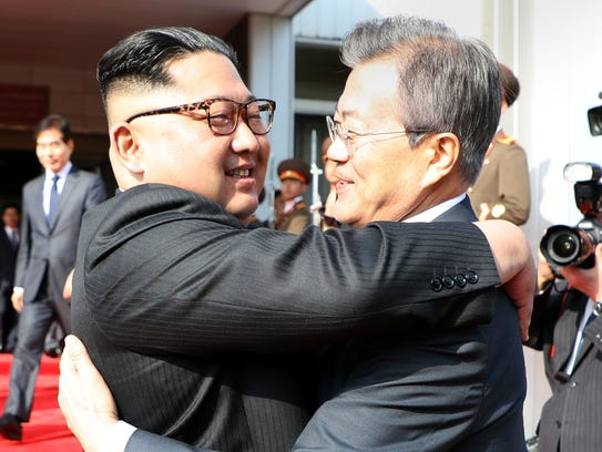 This picture taken on May 26, 2018 and released by