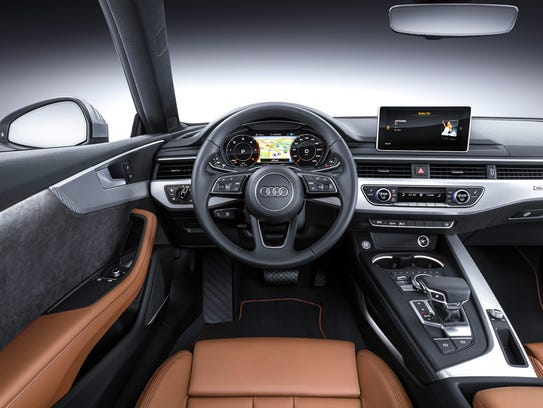 2018 Audi A5 Coupe, European model