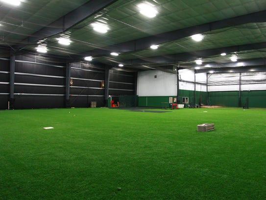 Photo inside Premier Sports Academy in Weston.
