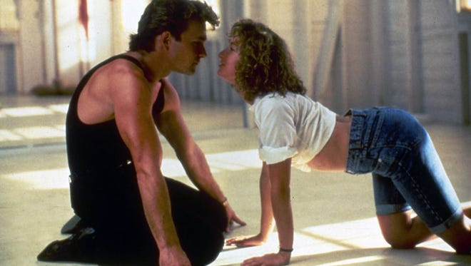 """Patrick Swayze and Jennifer Grey get down and a bit dirty in the original """"Dirty Dancing."""""""