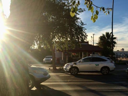 Self-Driving car in Chandler