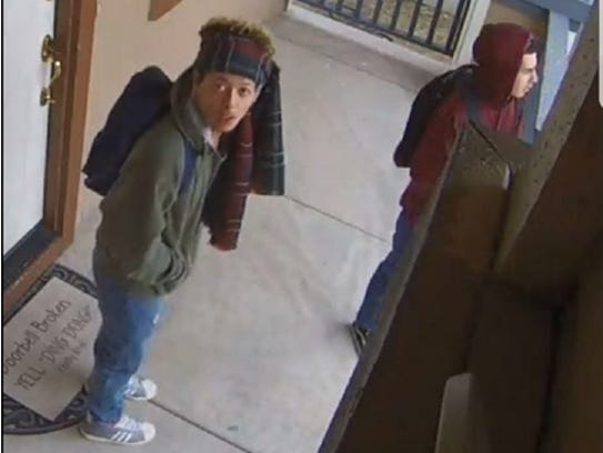 Reno police released photos of the suspects involved