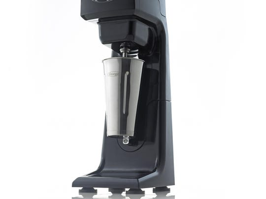 Upgrade your ice cream with the Omega Single Spindle Milkshake Maker.
