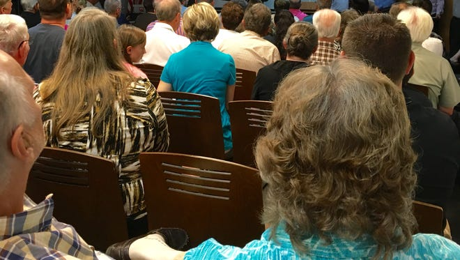 White County Citizens Against Islamic Indoctrination say more than 100 people attended an informational meeting last week. They expect a large crowd to attend a town hall Tuesday night about Islamic indoctrination in schools.