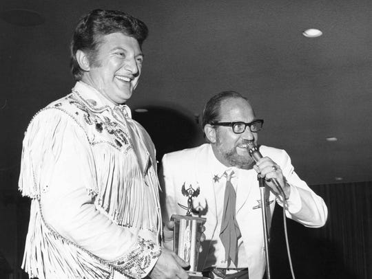 Liberace and Rich Canning, Desert Circus official