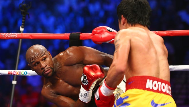 Floyd Mayweather and Manny Pacquiao made millions on the pay-per-view earnings from the their fight in May, but it may have been more if not for people watching the bout on live-streaming apps.