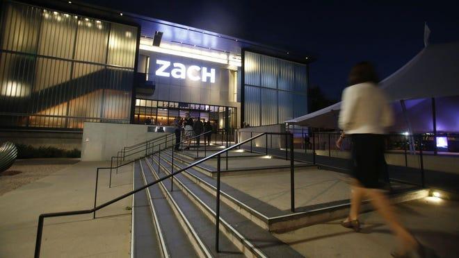 The Zach Theatre's 420-seat Topfer Theatre opened in 2012.