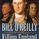 Best-selling books: 'Origin' and 'Killing England'