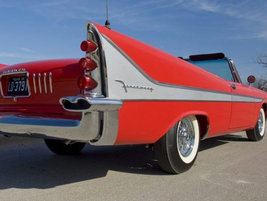This 1958 DeSoto Firesweep is owned by Ken Nagel of
