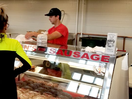 Hanzlian's Sausage at the Public Market