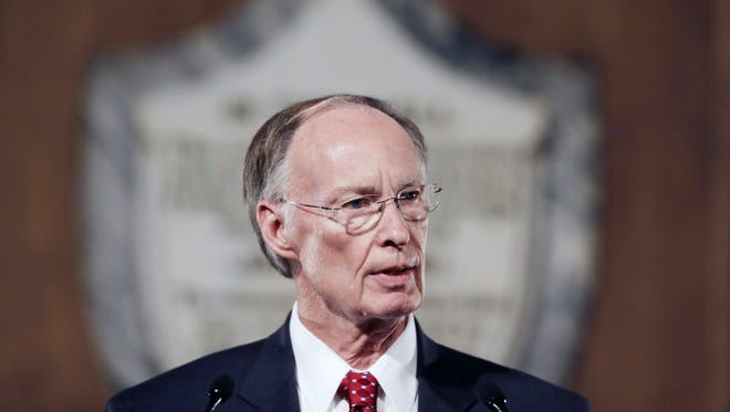 "Gov. Robert Bentley said the state faces a ""real crisis"" with its budget."
