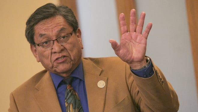 Navajo Nation President Russell Begaye says he has told the Navajo Housing Authority to increase the number of new homes it plans to build in the coming fiscal year.