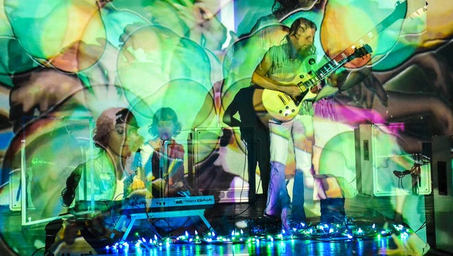 Darsombra, an audiovisual heavy psychedelic rock'n'roll band, based out of Baltimore, will play a free, 21 and older show 8:30 p.m. Sunday, Sept. 13, at the Fifty Pub N Grub, 935 Wallace Road NW.