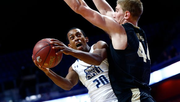 Old Dominion guard Trey Freeman is one of the top scorers