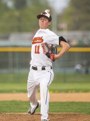 Junior pitcher Brian Coburn's work on the mound has helped Palmyra to a 5-1 start.