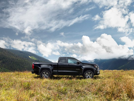 The off-road-inspired Colorado Z71 has been named Motor