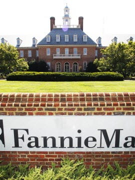 File photo shows Fannie Mae's Washington, D.C. headquarters