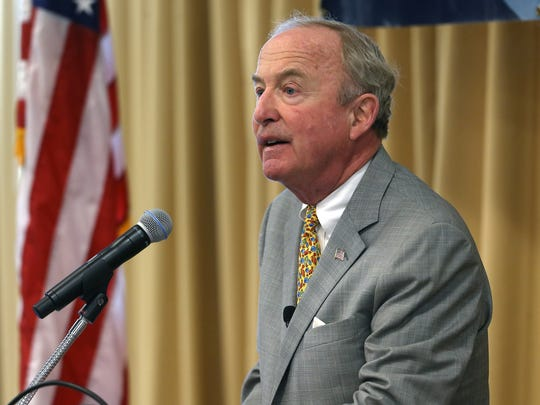 Congressman Rodney Frelinghuysen is pictured here speaking