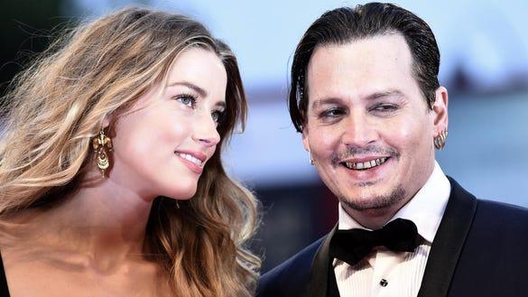Teeth Because Johnny Depp EPA ITALY VENICE FILM FESTIVAL 2015 ACE CINEMA ITA IT
