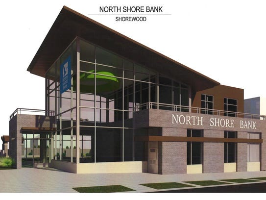 North Shore Bank plans to build this 3,300-square-foot,