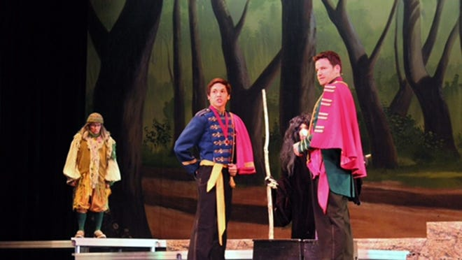 """Musical Theatre University productions like """"Into the Woods"""" help prepare desert students for higher education and entry into professional arts and entertainment."""