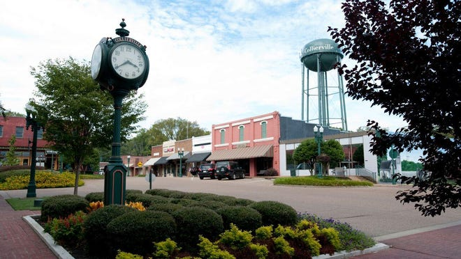 Downtown Collierville.