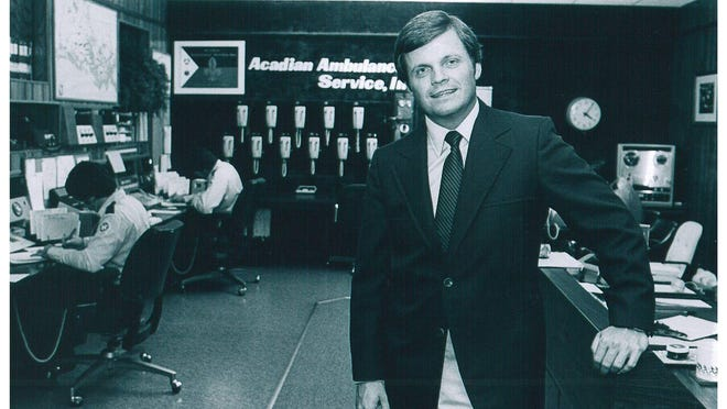 Acadian CEO Richard Zuschlag in 1980. The company is celebrating its 45 anniversary.