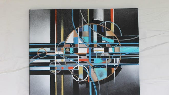 """Michael Husted is the guest artist at Gallery Forty-One in Owego with his show """"Other Facets: Painting and Sculpture."""""""
