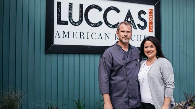 Luccas American Kitchen owners John and Jodi Davick.