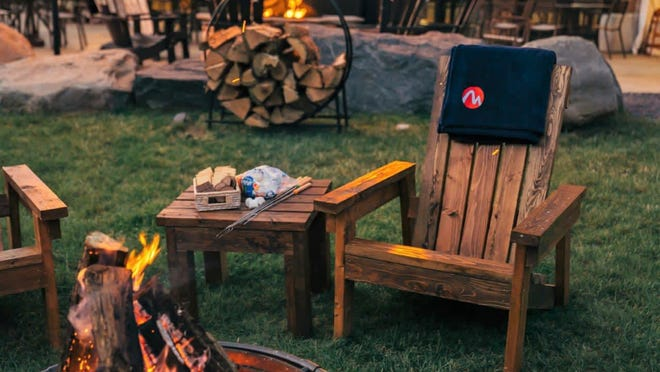 Bonfires at Trails End pub & Grill every Thursday and Saturday. PHOTO PROVIDED