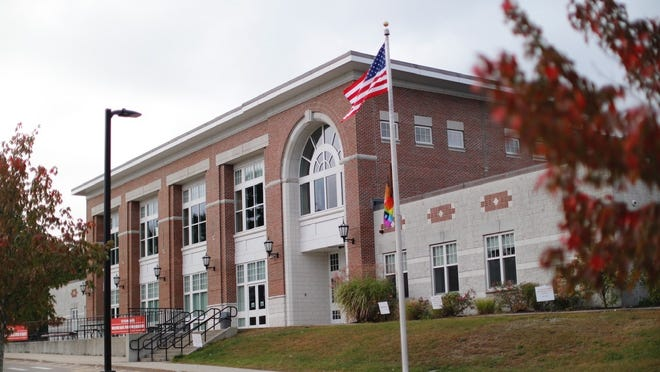Pierce Middle School will close for two weeks following several COVID-19 cases. Greg Derr/The Patriot Ledger
