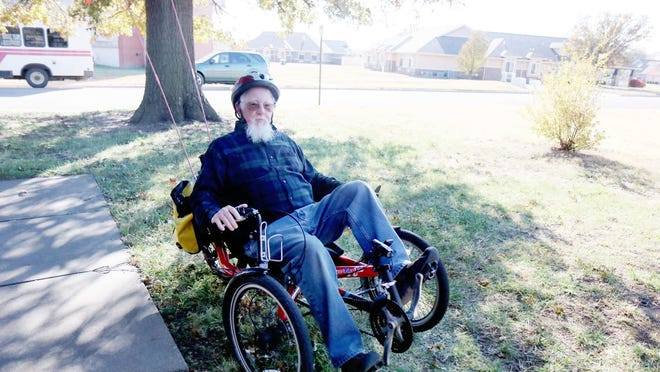 Curtis Stubbs has been cycling for most of his life but took up something new in the world of cycling about eight years ago -- assembling tricycles for people with disabilities through AMBUCS.