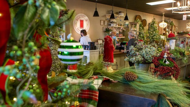 The Red Door Home Store, 2131 S.W. Fairlawn Plaza Drive in Topeka, launched its online store this year.