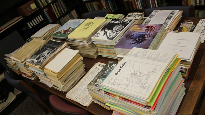 The University of Iowa is archiving and digitizing the collection of science fiction superfan Rusty Hevelin.